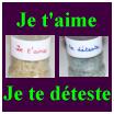 les deux pots de riz : forme pensée