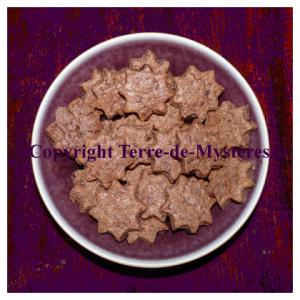 Recette de gâteaux de sabbat, biscuits sablés au chocolat sans oeuf