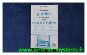 Comment purifier et revitaliser l'eau de table ?