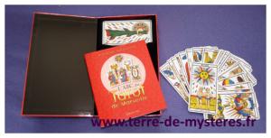 le Coffret ABC du Tarot de Marseille : jeu de 78 lames et guide d'utilisation