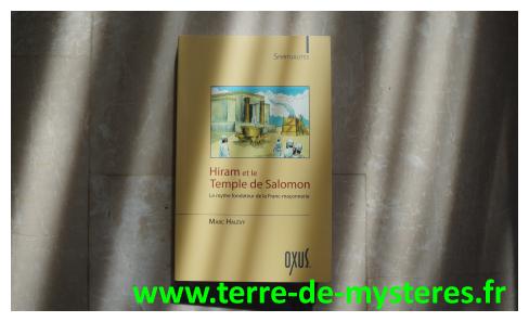 Hiram et le temple de Salomon, le mythe fondateur de la franc-maçonnerie, de Marc Halevy
